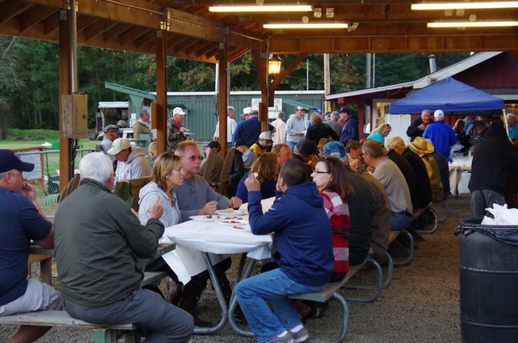 Dinnertime at Gig Harbor Seafood Shoot