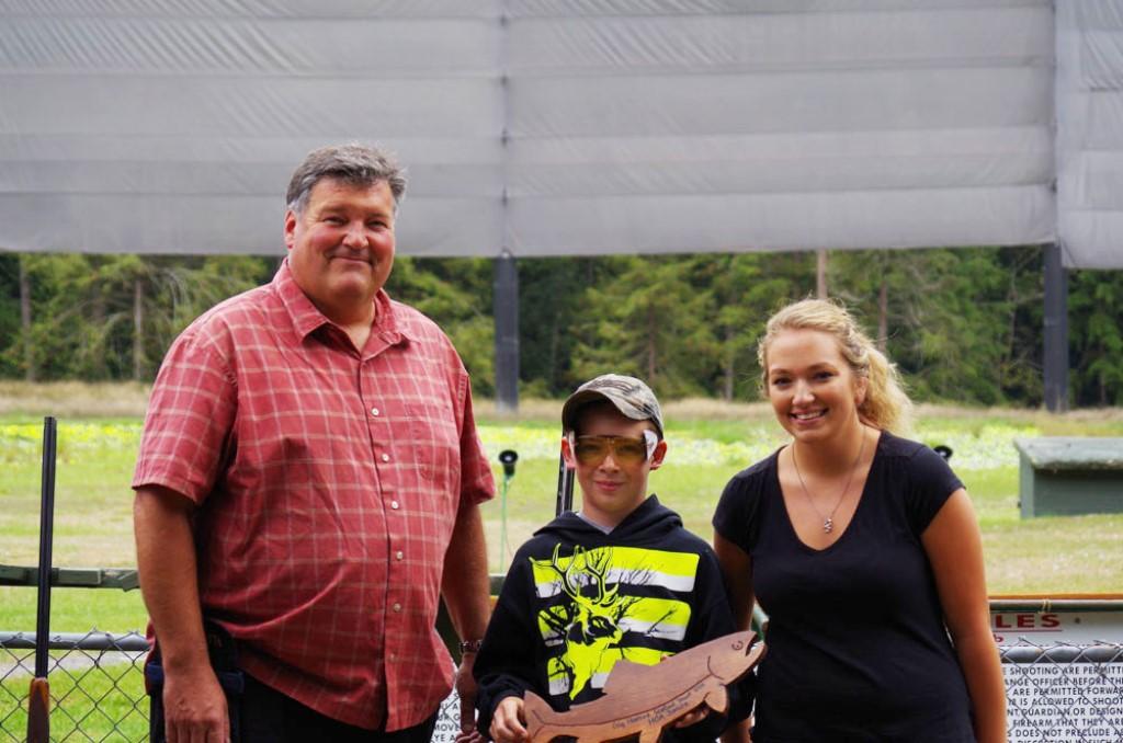 Gage wins at Gig Harbor Seafood Shoot