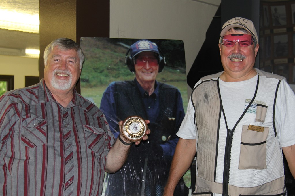 Alan and Steve - Portland Gun Club winners