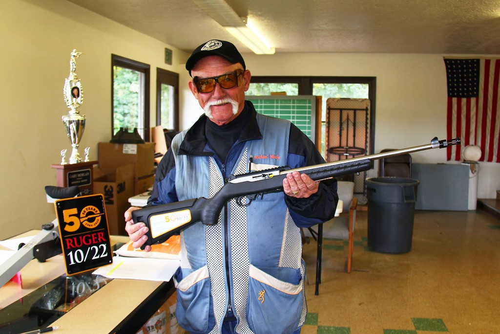 Mike Healy wins Ruger 10-22 drawing