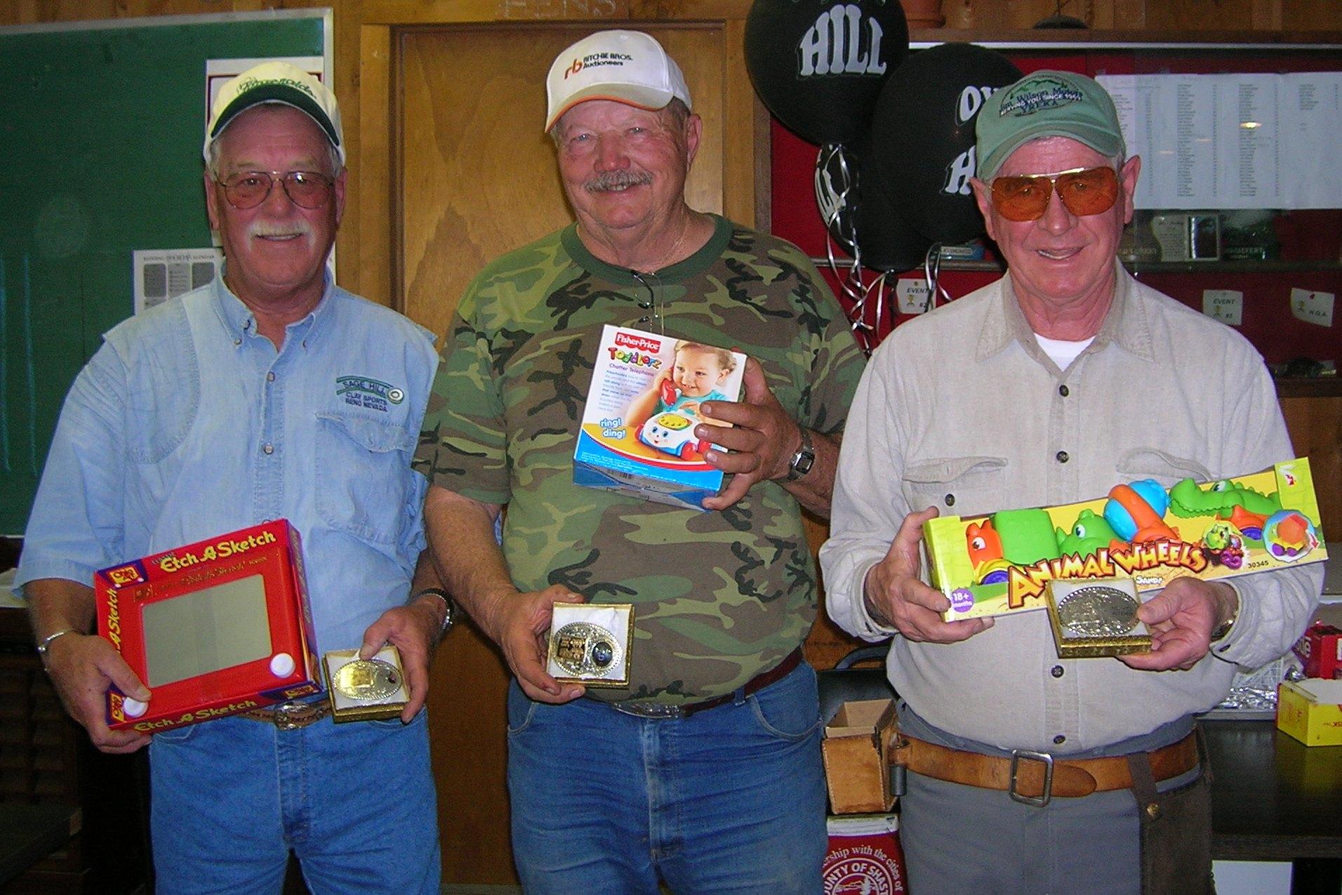 Al, Gib and PA Redding Gun Club Toys for Tots 2007