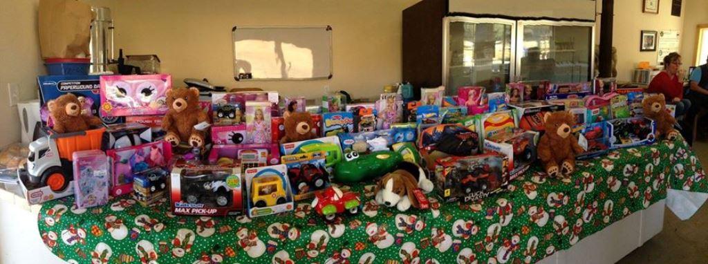 Ukiah Toys for Tots 2014