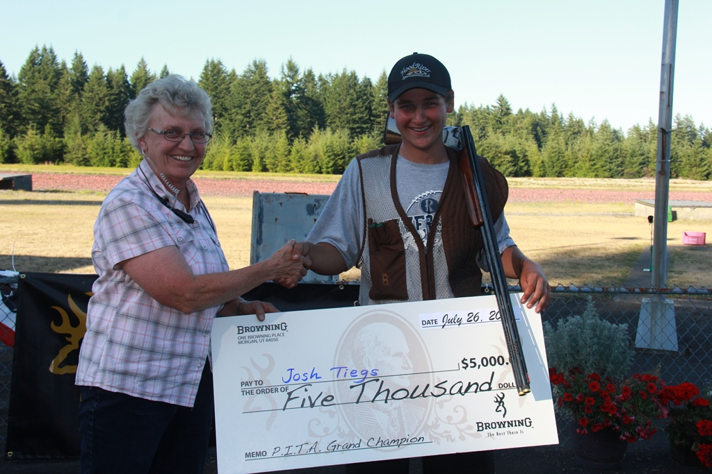 Josh Tiegs Wins big money from Browning at the Grand