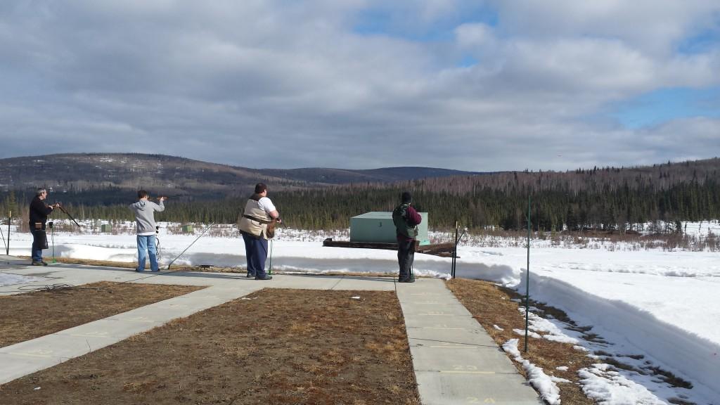 Fairbanks Trap Club spring opening