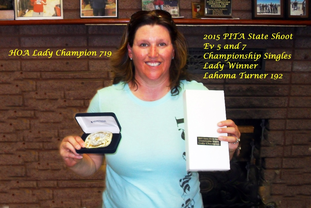 Lahoma Turner - ID Lady Single Champion