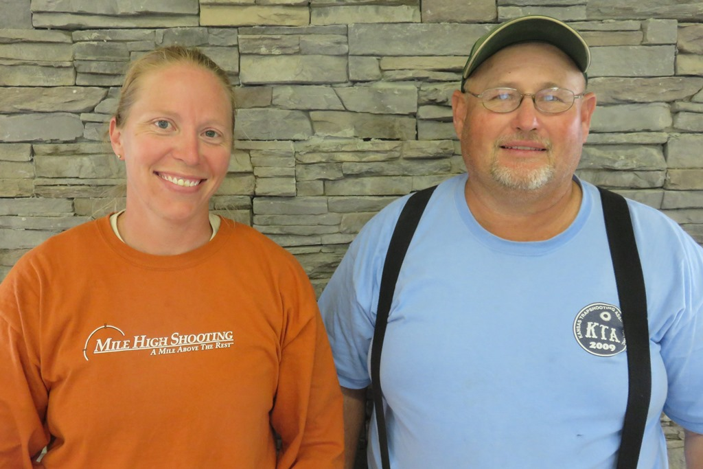 Stacy Rehor & Kevin Davis - CO Singles Champions