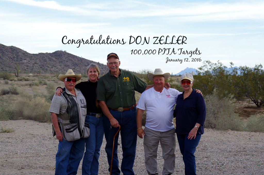 Don Zeller's 100,000 target squad
