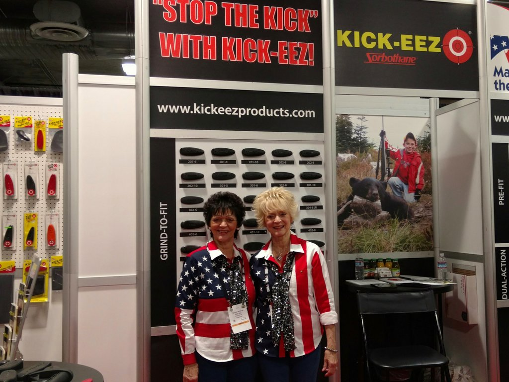 Grand Pacific sponsor KICK-EEZ at SHOT Show 2016