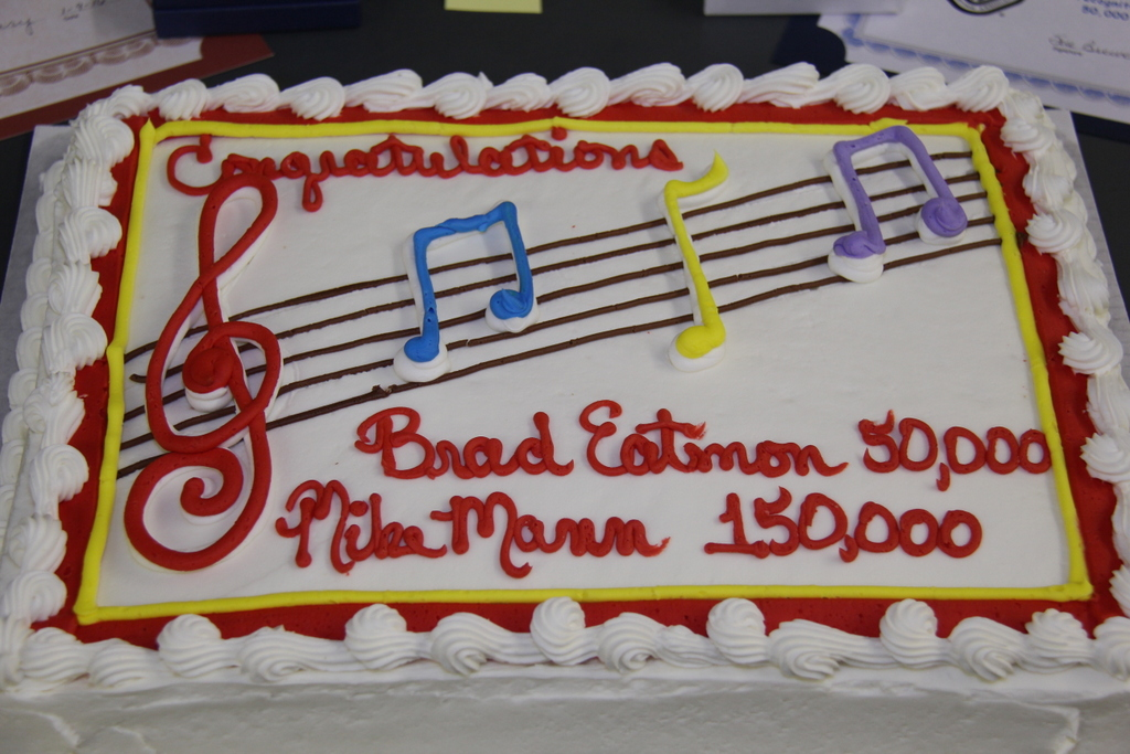 Milestone Cake - Del Norte Crab Buckle Shoot