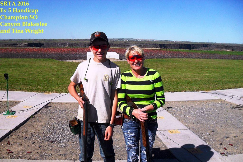 Twin Falls SRTA Handicap winners
