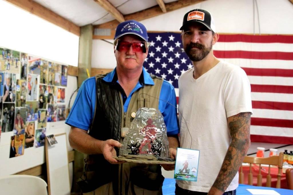 Mac Robertson and Brian Rosendahl at Cape Blanco
