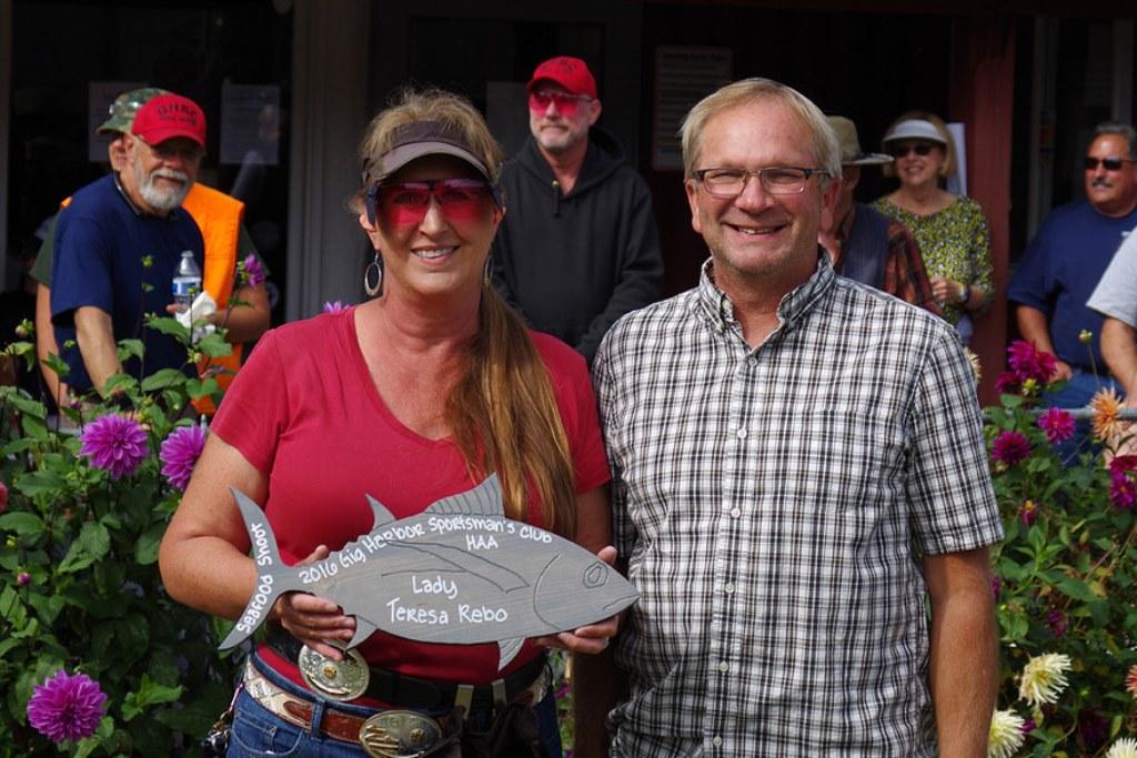 Teresa wins at Gig Harbor