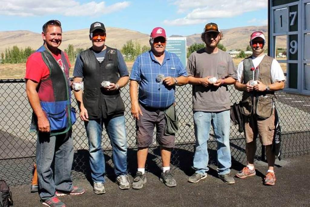 Buckle winners at the Big Yak