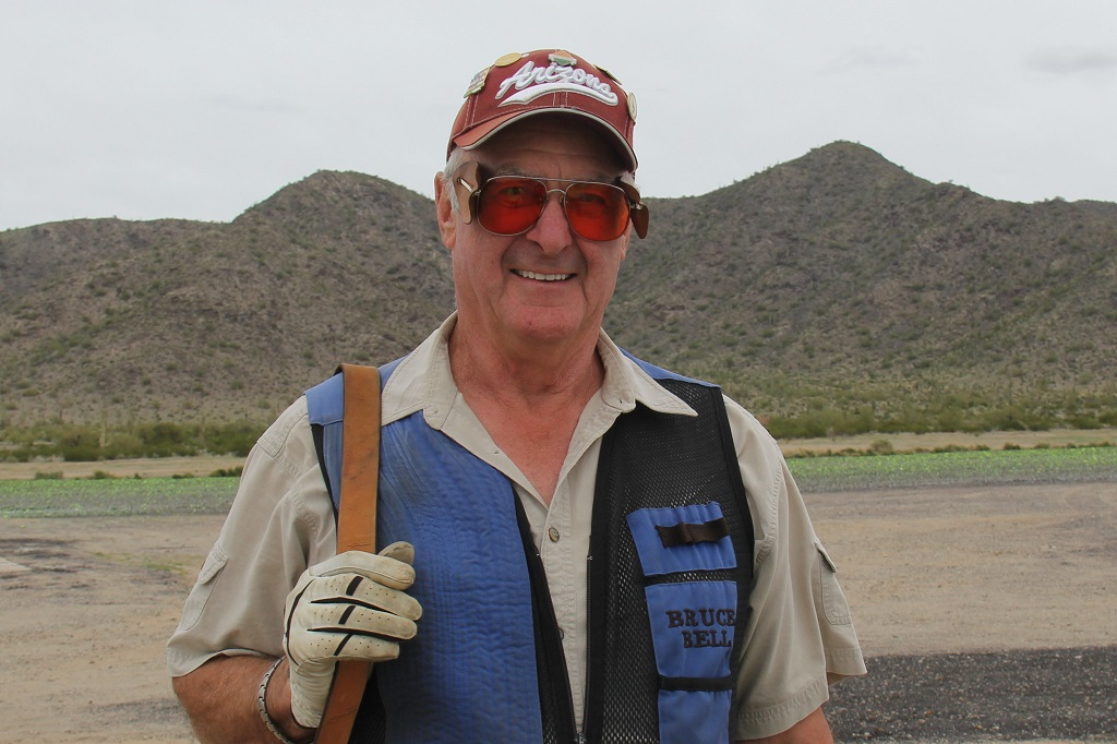 Bruce Bell shoots 100 straight in singles at AZ State Shoot
