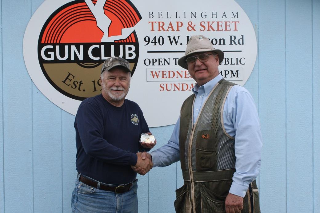 Mike King wins at Bellingham Memorial Buckle Shoot