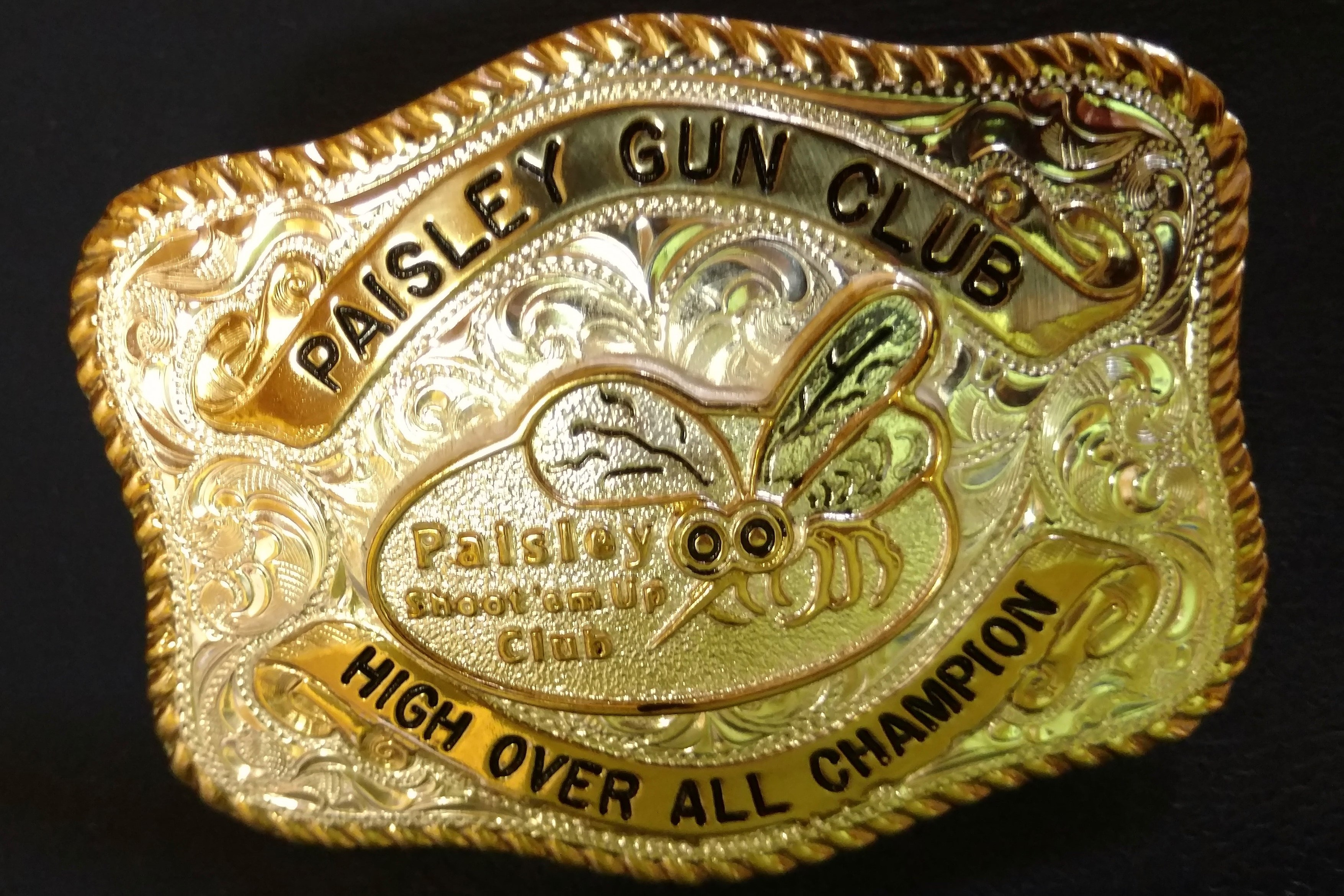 Who will win this famous Paisley Mosquito Shoot buckle?
