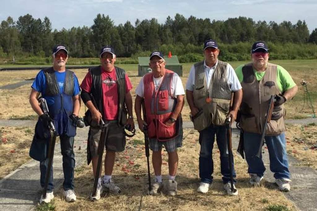 Jack Vandament 150,000 target squad at Vancouver Gun Club