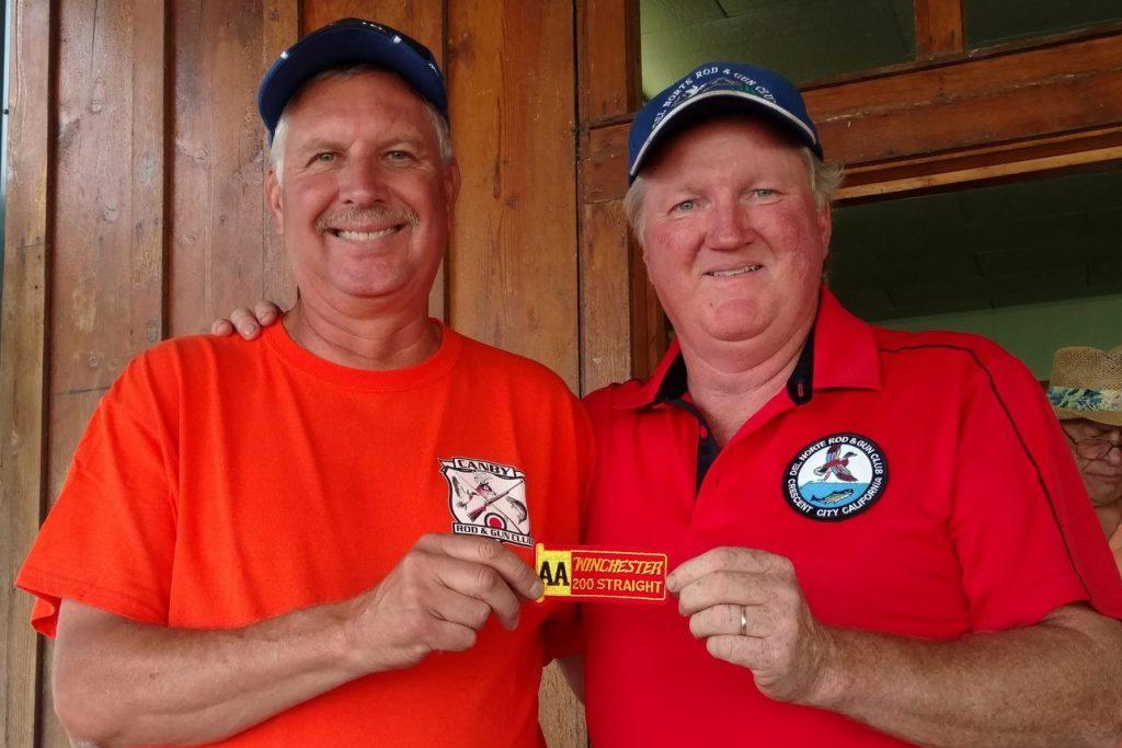 Mark and Mac both shot their 1st 200s at Klamath