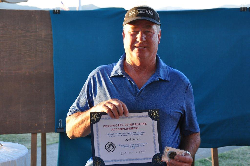 Zach Keller receives 50,000 milestone at Grand Pacific