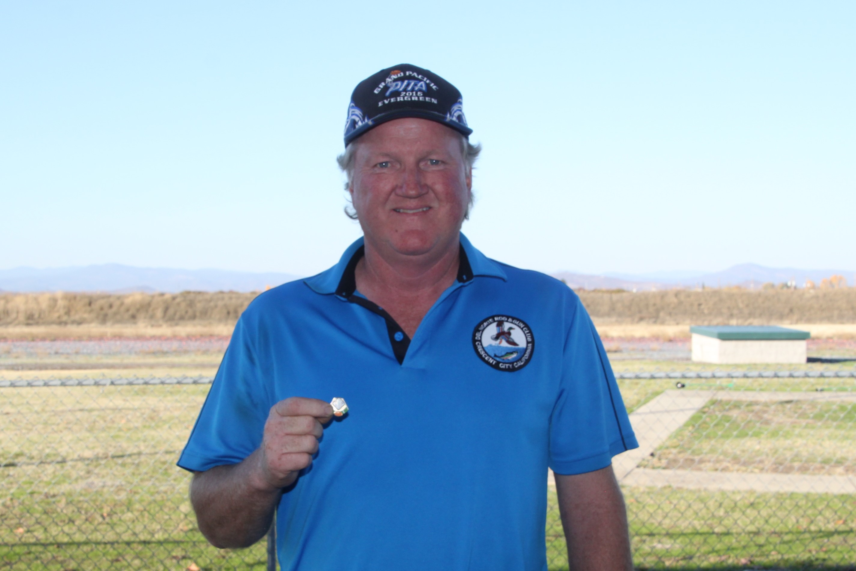 Mac Robertson received his AA-27-AA pin at Medford
