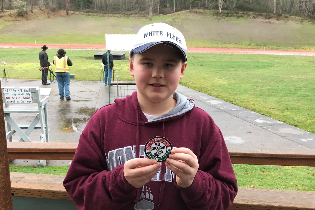 Gregory Stewart shoots his 1st 50 straight at Kenmore Multiplex-age 12