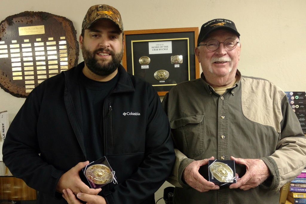 Jeremy Stetser and Bob Hunt - Crab Buckle winners