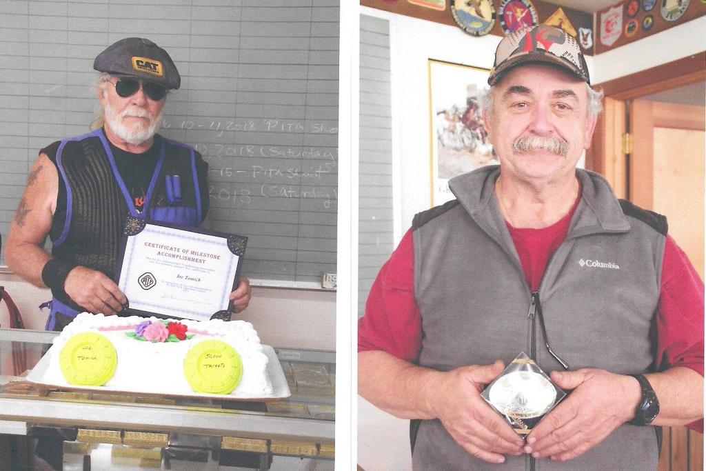 Joe Tomich 50,000 and Randy Neal at Eel River