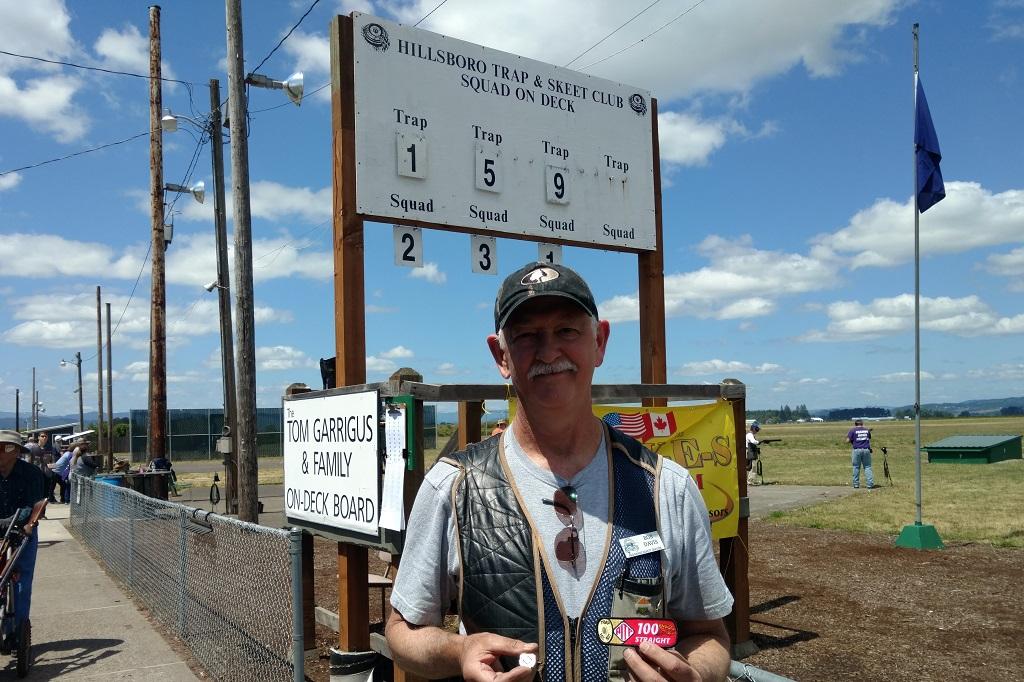 Bob Davis shoots his 1st 100 - Oregon State Shoot Hillsboro