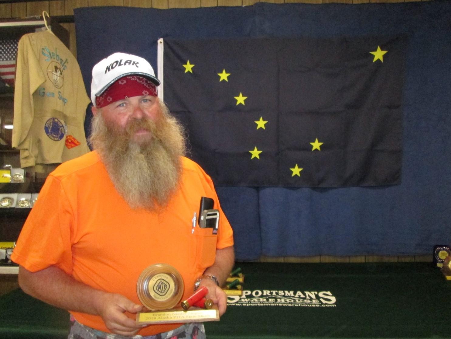 Bob Setren Singles Champion Day 2 of the AK State Shoot