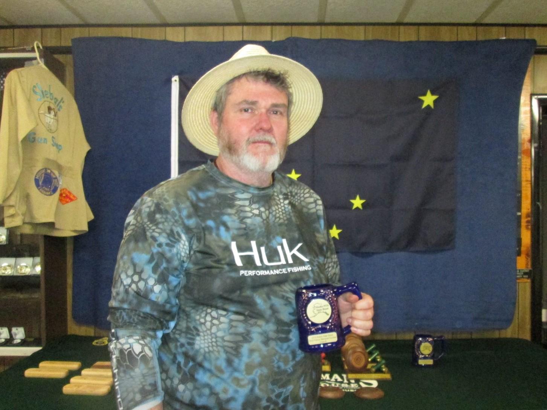 Brett Nieder B Class Doubles winner at Fairbanks - AK State Shoot