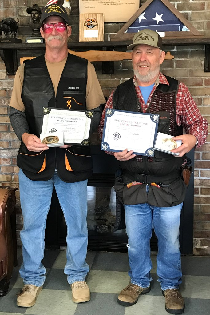 Joe Scheef-200,000 targets and Les Butler-50,000 at Old Skagit-September 15, 2018