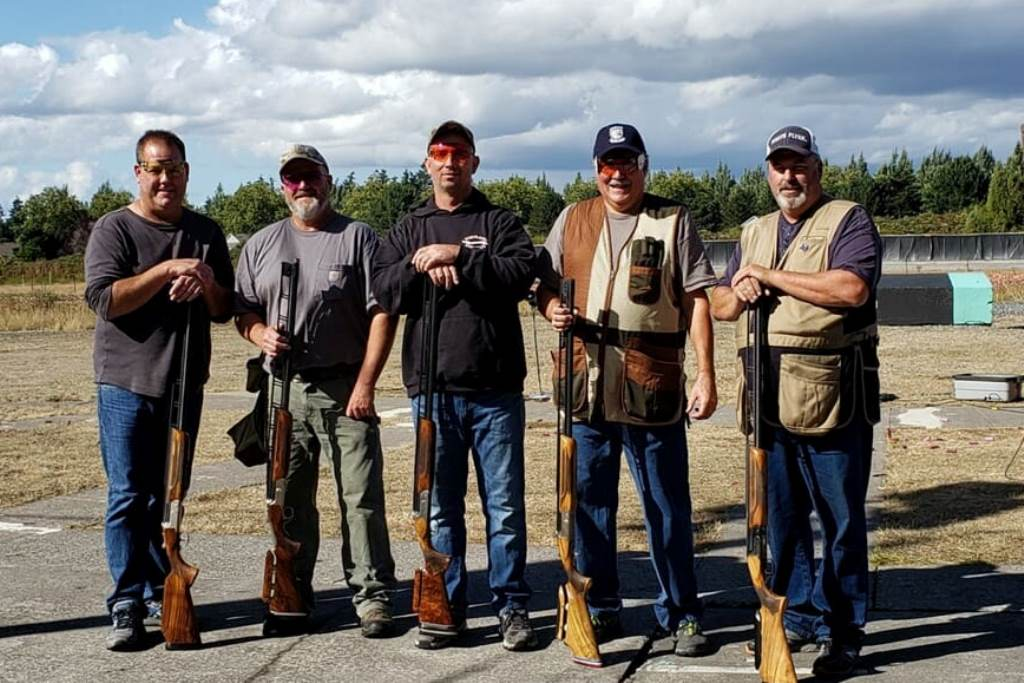Tim Plagman, John Backen, Mike Riggs, Steve Kaufman and Dennis Hernley - 125 club twice in the same day at Portland