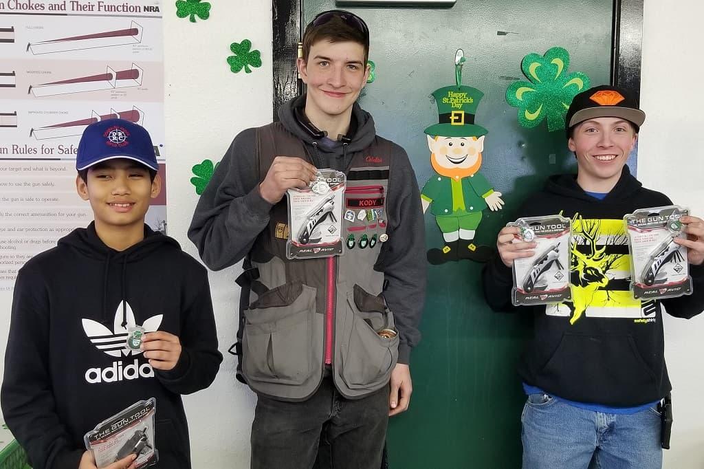 Kepa, Kody and Wyatt - Junior winners