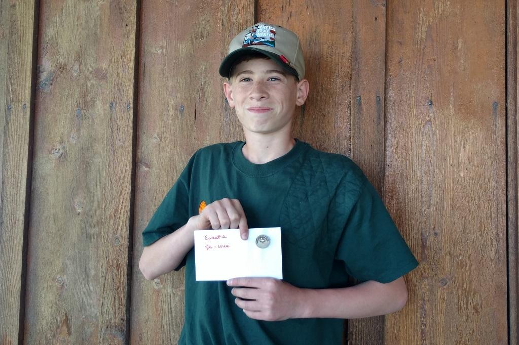 Brandon Anderson Junior winner