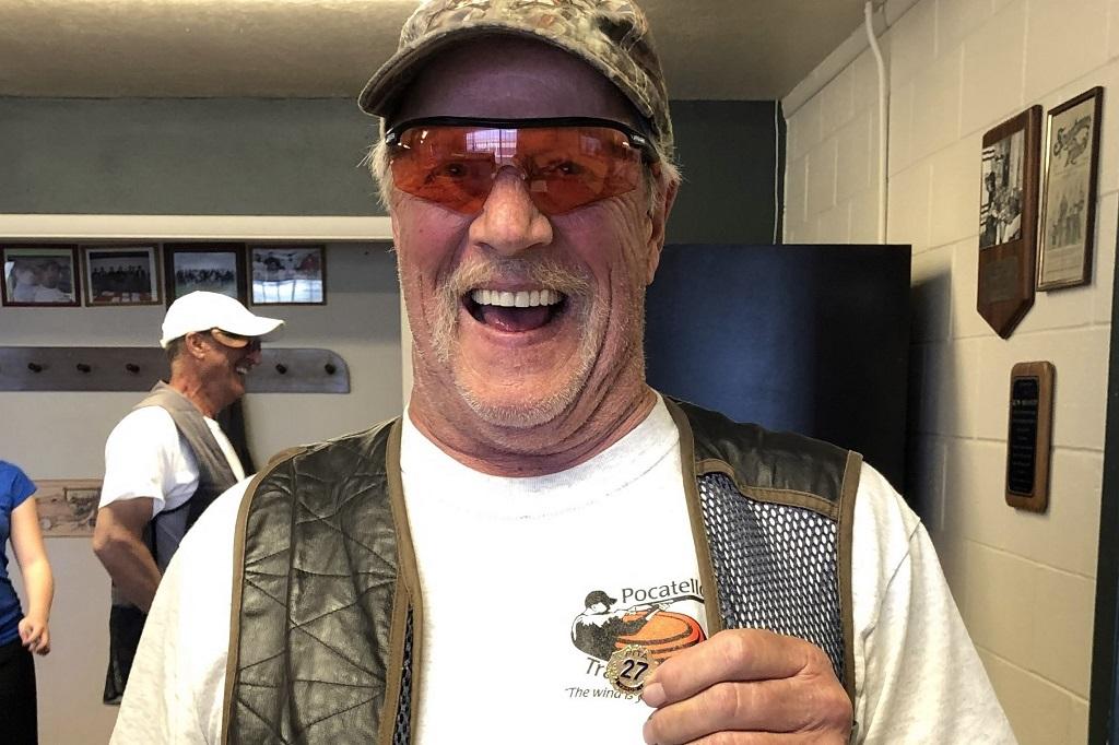 Rick Ruggles earned his 27 yard pin