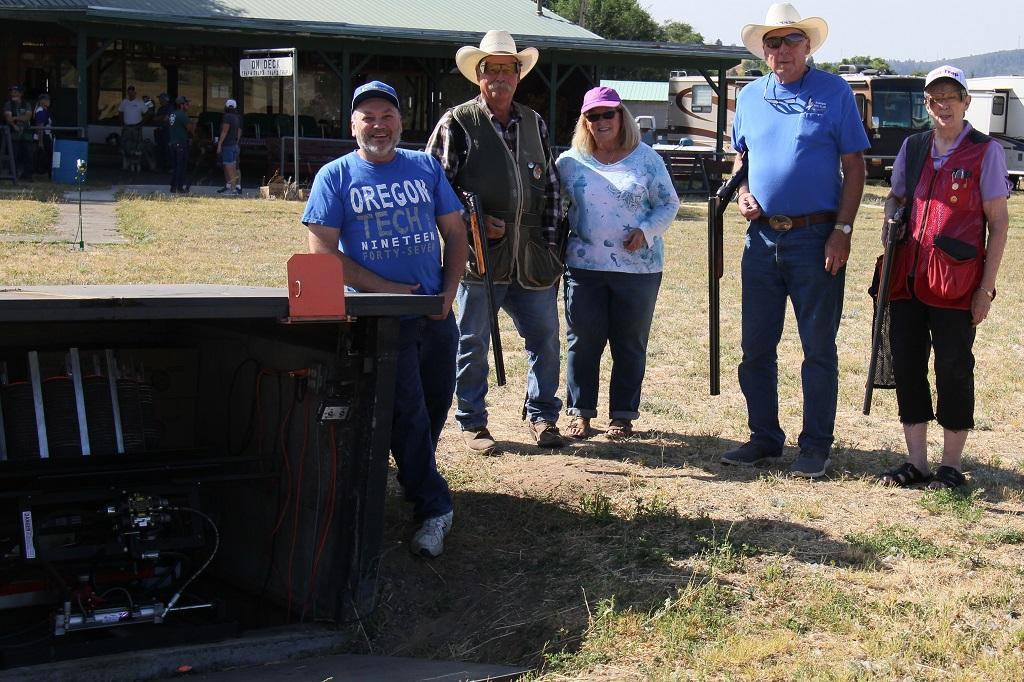 Klamath Board fires first shots off new machine