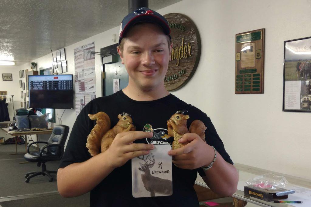 AJ wins at Hillsboro Nut Shoot