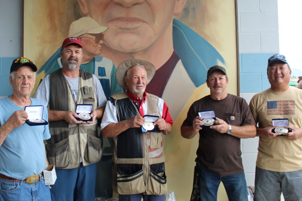 John, Dan, David L, David T & Kent-2nd place-Buckle winners