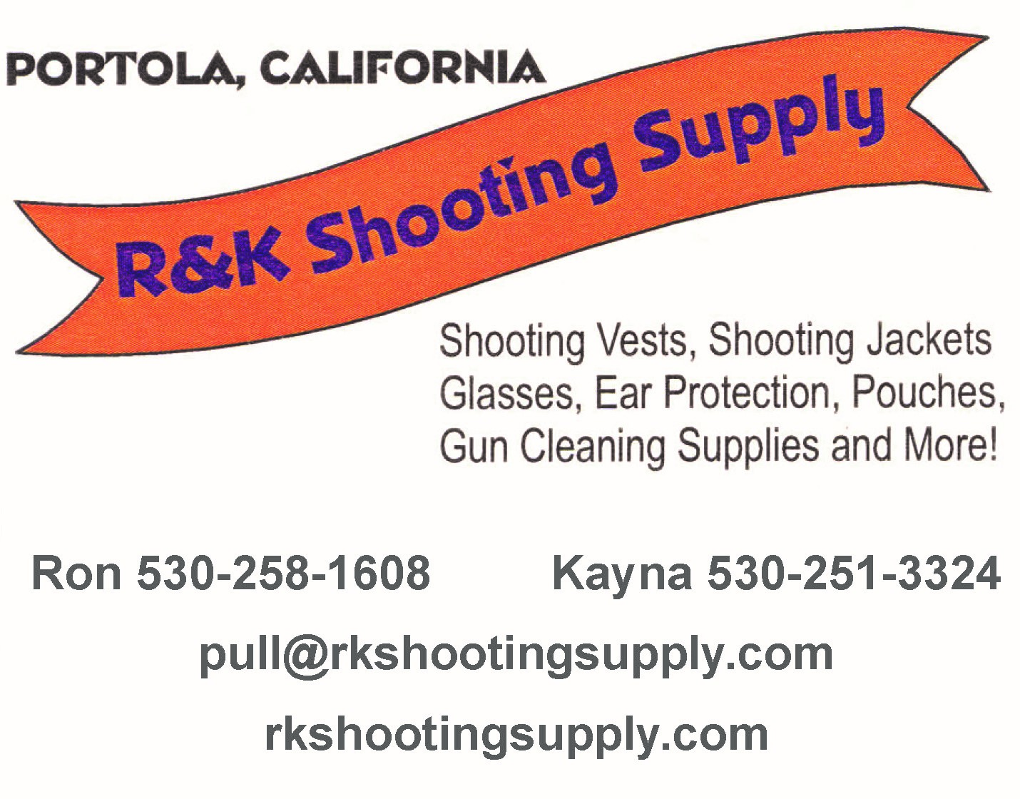 R and K Shooting Supply