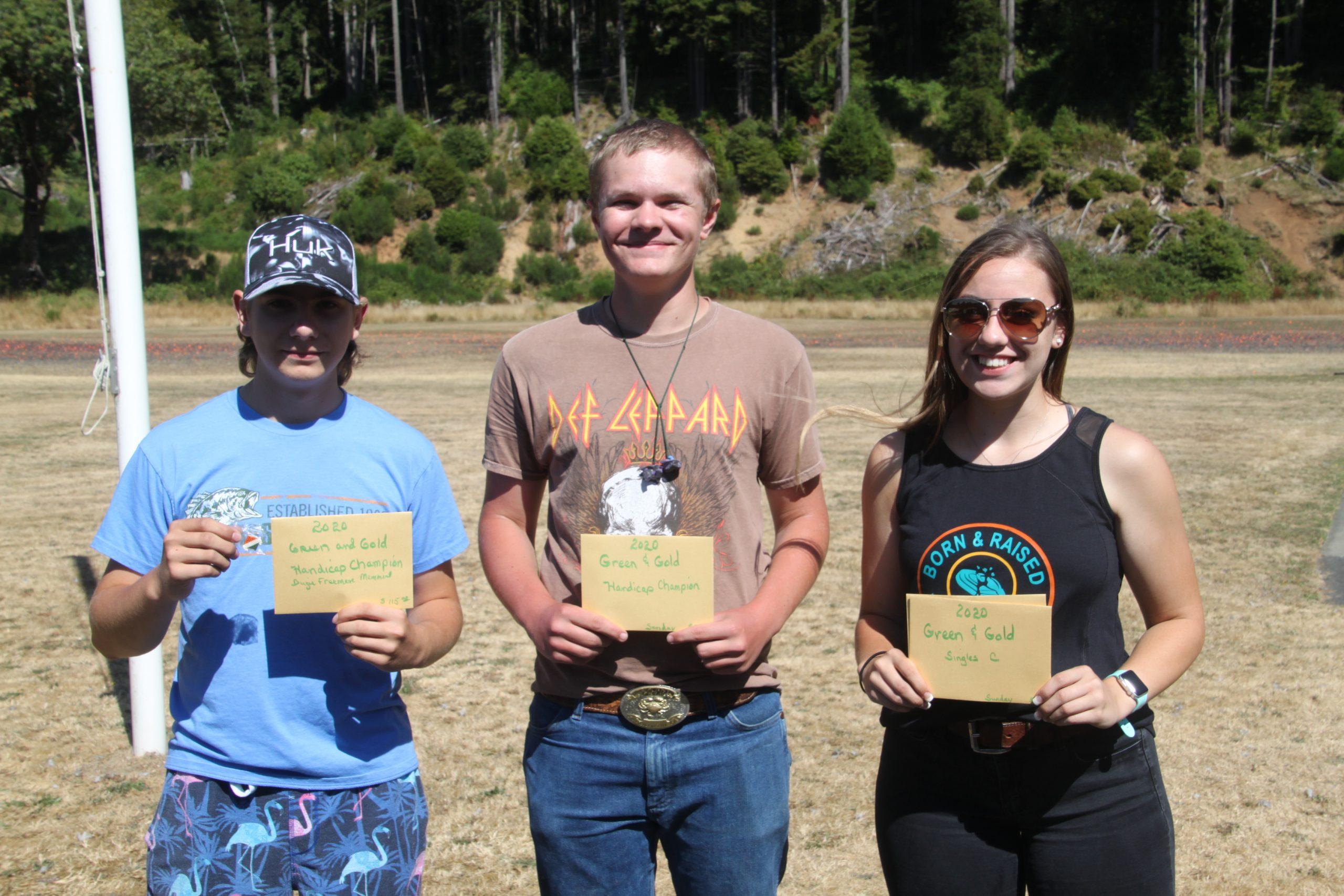 Rylan, Shane, & Alexis winners