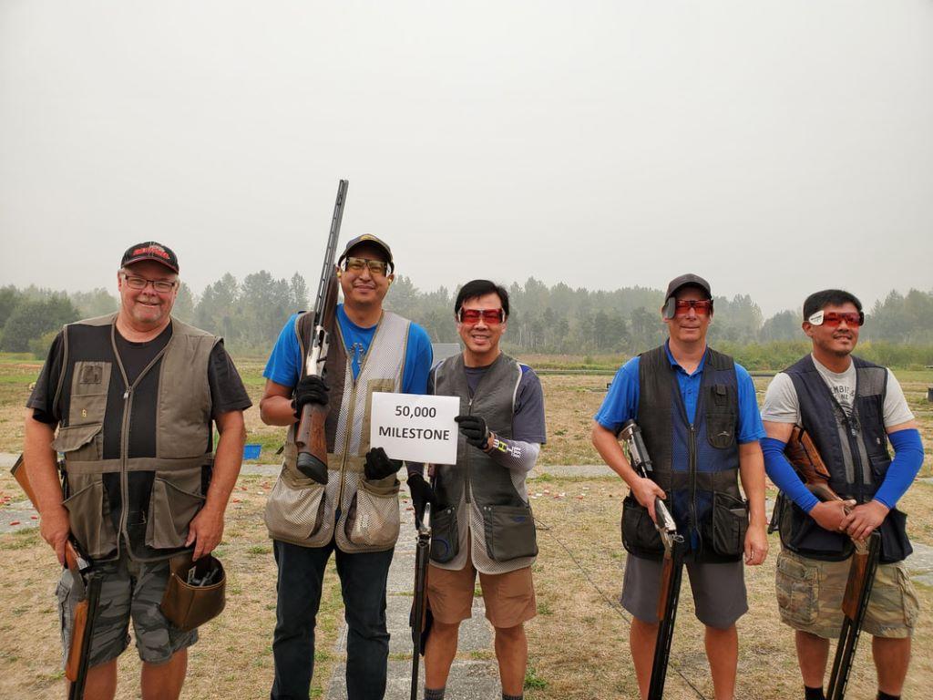 Marshall Wirawan shot his 50,000th PITA target with this squad