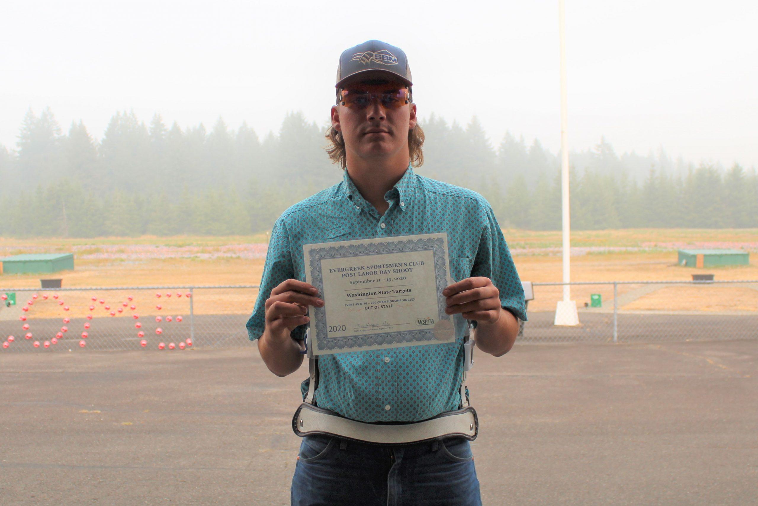 Michael - WA State 2020 winner