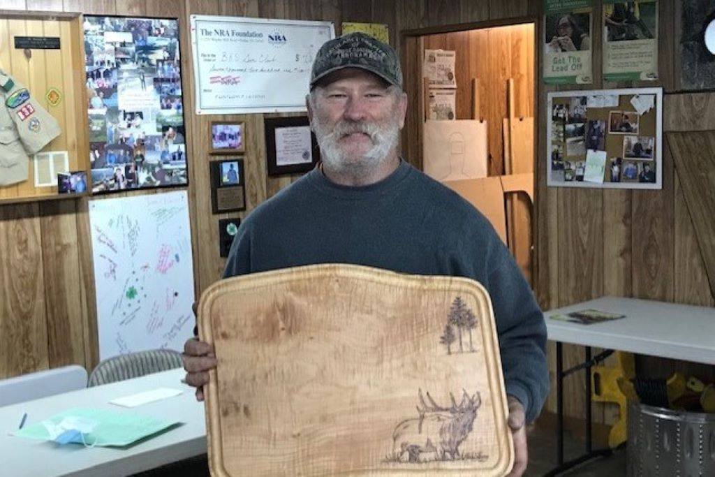 Fred - 2020 Elk shoot champion