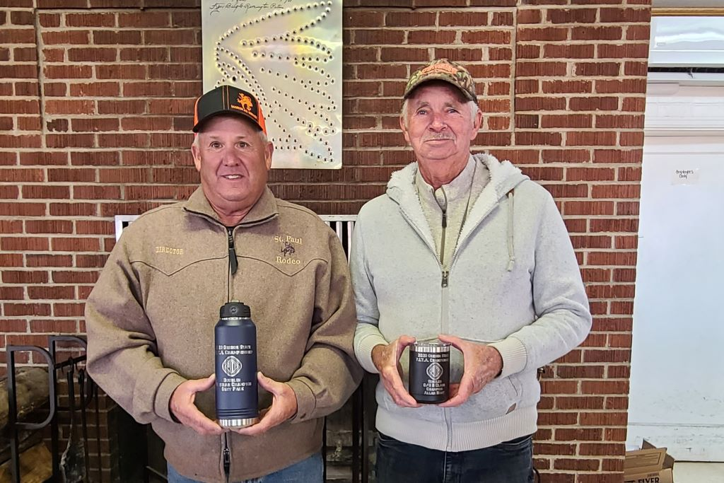 Gary and Allan - OR State Shoot winners