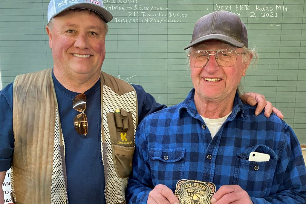 Dan presented Silas with a special buckle for all the hard work he does at the Club