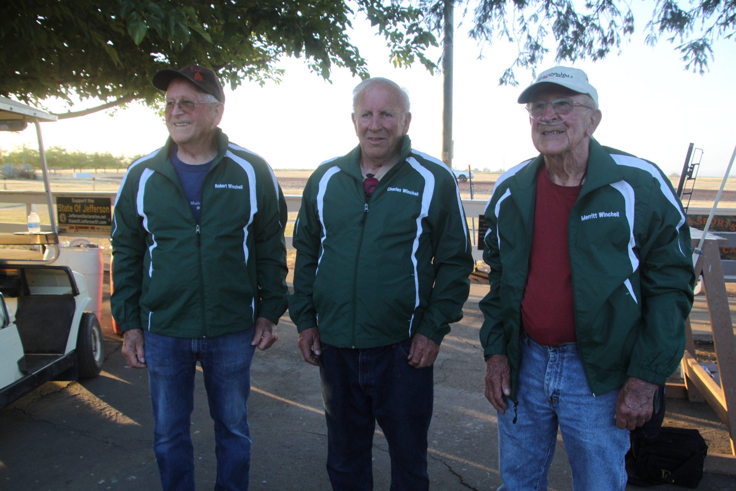 Robert, Charles, Merrit Honorees