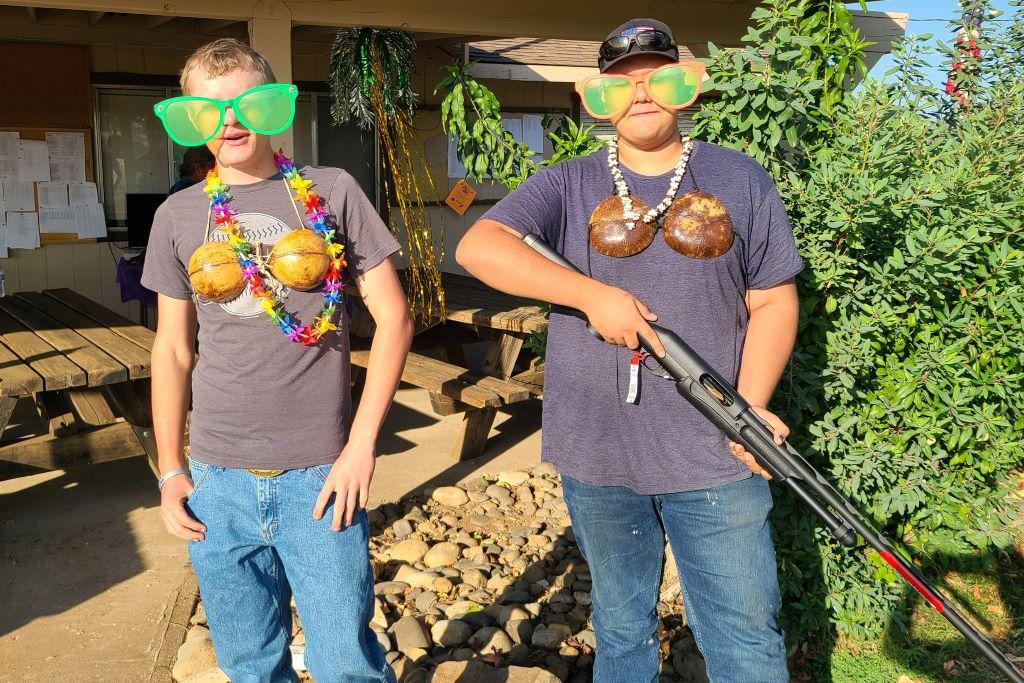 Redding Luau shooters